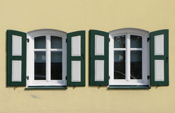Deux fenêtres Image libre de droits