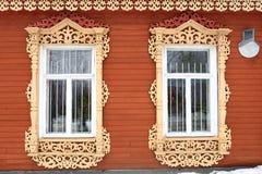 Deux fenêtres Images libres de droits