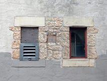 Deux fenêtres Photographie stock