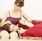 Deux filles Image stock