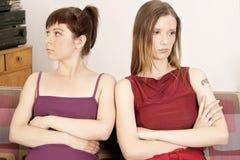 Deux filles photos stock
