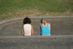 Deux filles Images libres de droits