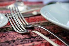 Deux fourchettes Photo libre de droits