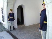 Deux gardes Images stock