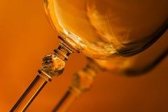 Deux glaces de vin Photo libre de droits