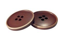 Deux grands boutons Photo libre de droits