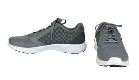 Deux Gray Sport Shoes Images stock