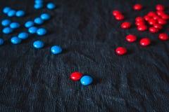 Deux groupes, concept de négociations Image stock