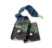 Deux harddrives Image stock