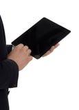 Deux hommes avec l'ordinateur portable Photos libres de droits