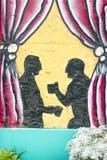 Deux hommes ayant le café Photo libre de droits