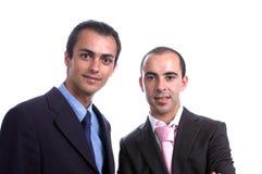 Deux hommes d'affaires Image libre de droits