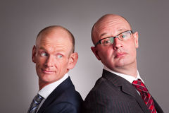 Deux hommes d'affaires image stock