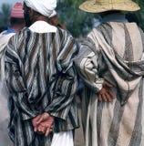 Deux hommes dans le djelleba Images libres de droits
