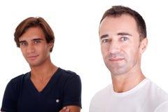 Deux hommes occasionnels Images libres de droits
