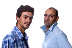 Deux hommes occasionnels Photo libre de droits