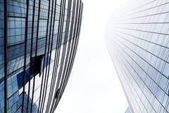 Deux immeubles de bureaux Image stock
