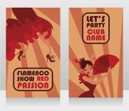 Deux insectes pour l'exposition de flamenco photographie stock