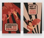 Deux insectes pour l'exposition de flamenco photos libres de droits
