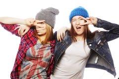 Deux jeune amie Photographie stock