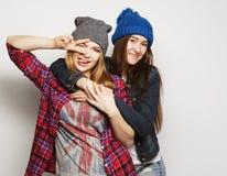 Deux jeune amie Photo stock