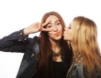 Deux jeune amie Photographie stock libre de droits