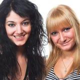 Deux jeunes femmes Photographie stock