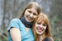 Deux jeunes femmes Photo libre de droits