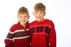 Deux jeunes garçons Photographie stock