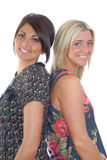 Deux jolies filles Images stock
