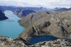 Deux lacs photos libres de droits