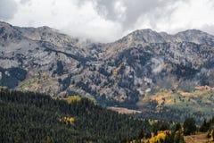 Deux lacs sur la montagne photo libre de droits