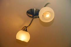 Deux lampes Image libre de droits