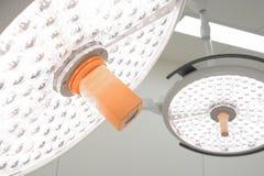 Deux lampes chirurgicales Photos libres de droits