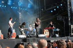 Deux lapins dans l'amour - groupe français de musique Photos libres de droits