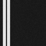 Deux lignes blanches Image stock