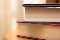Deux livres Image stock