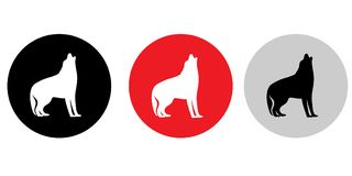 Deux logos de chien Photos libres de droits