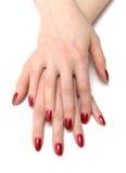Deux mains de femme Image libre de droits
