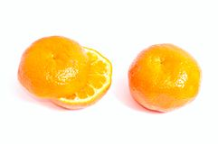 Deux mandarines Photos libres de droits