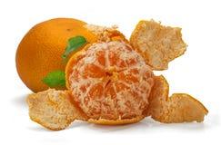 Deux mandarines Photos stock