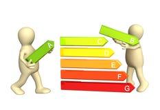 Efficacité énergétique illustration stock