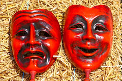 Deux masques Images stock
