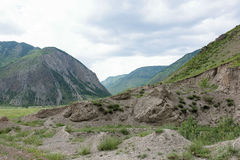 Deux montagnes Images stock