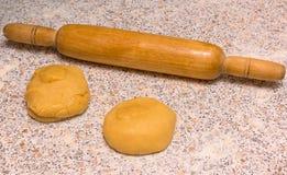 Morceaux de pâte photos stock