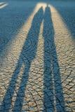Deux ombres Images libres de droits