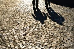 Deux ombres Image libre de droits