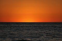 Deux ont modifié la tonalité le coucher du soleil Image libre de droits