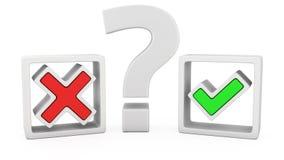 Deux options illustration de vecteur