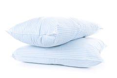 Deux oreillers Photo stock